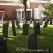 Church lawn - cemetery