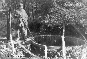 Seneca Oil Spring sometime before 1927