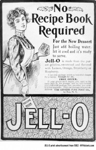 JELL-O advertisement from 1902