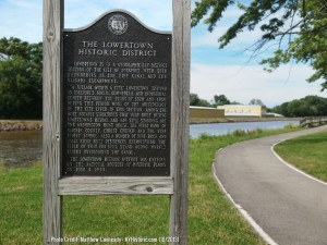 Lowertown-Historic-Distric-Lockport-Sign1