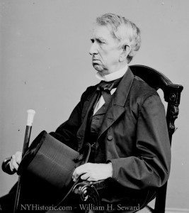 Side Portrait - William Seward