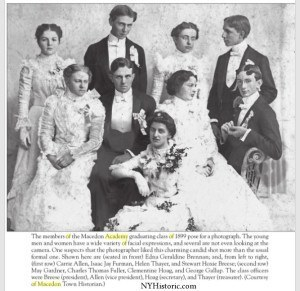 class of 1899 - macedon academy