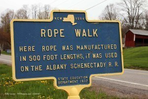 marker closeup - rope walk