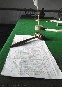 Colonial Ledger in Senate Room