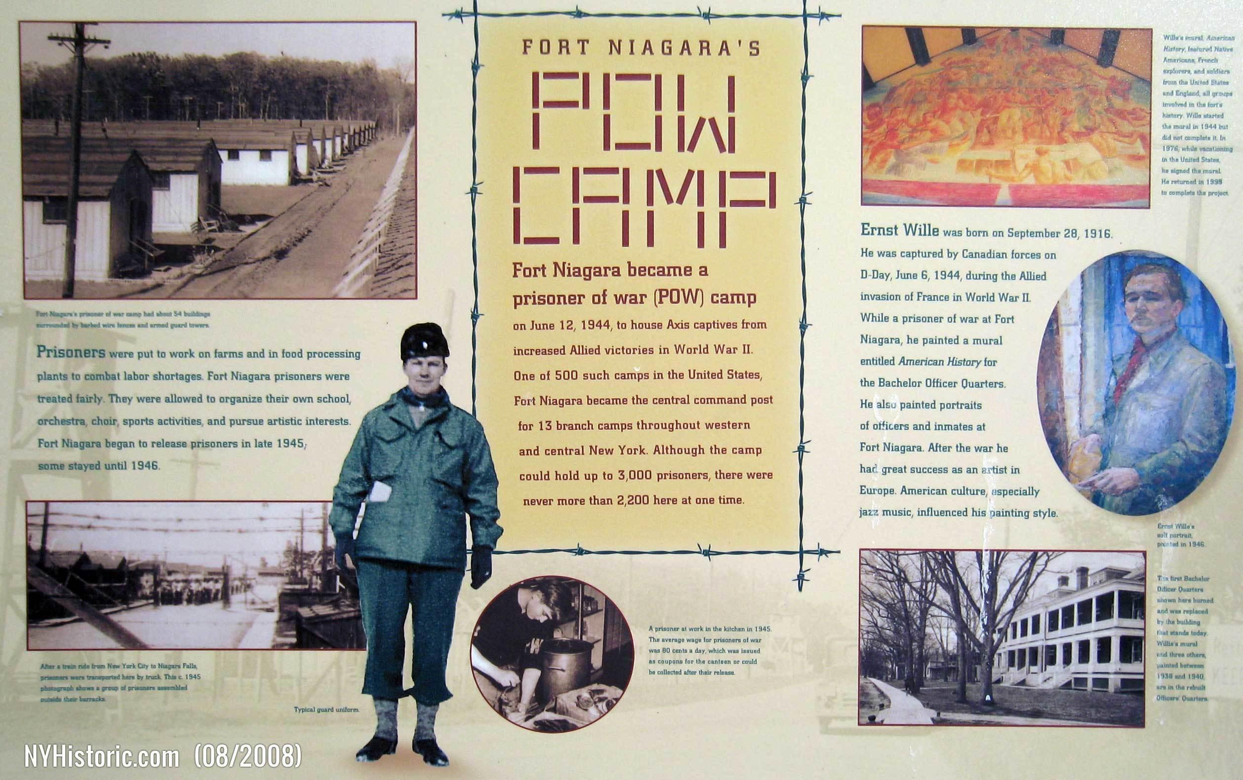 POW Camp – World War II |